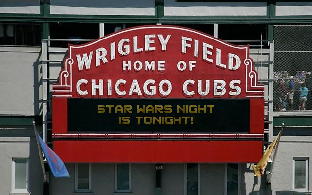Wrigley Field Marquee Sign Generator